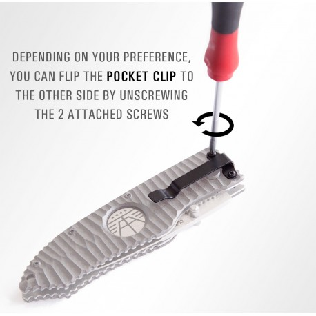 Folding Knife Pocket Clip Tool