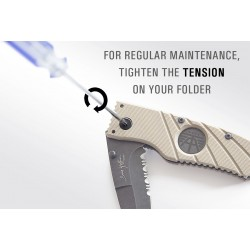 Folding Knife Tension Adjust Tool