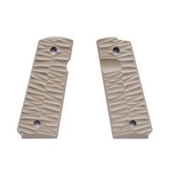 1911 Compact G10 Grips Chiseled