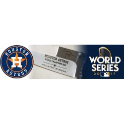 "World Series Edition Houston Astros 3.5"" Folding Knife"