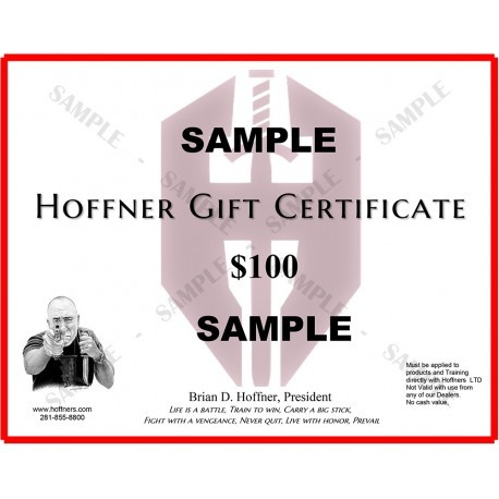 Gift Certificate for ANY 1 Pair of Hoffner Covert Carry Clothing