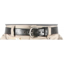 Premium Cowhide Belts 1.5 - Black